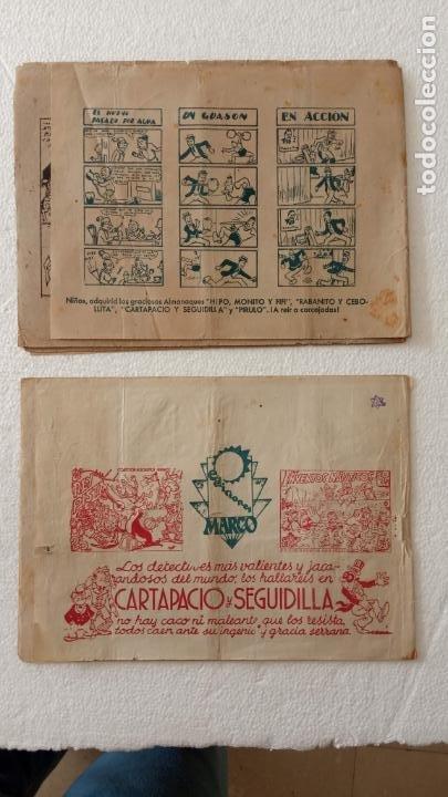 Tebeos: PIRULO Y TONTOLOTE - ACROBÁTICA INFANTIL EDI. MATCO 1942 - E. BOIX, ORIGINALES - Foto 2 - 233766835