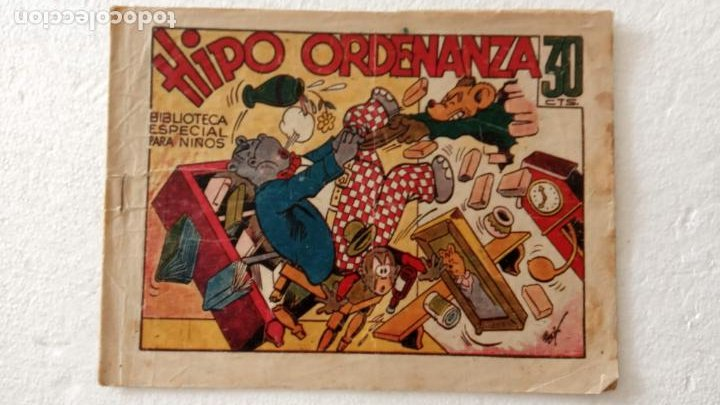 BIBLIOTECA ESPECIAL PARA NIÑOS - HIPO ORDENANZA - 1942 EDI. MARCO - E. BOIX (Tebeos y Comics - Marco - Hipo (Biblioteca especial))