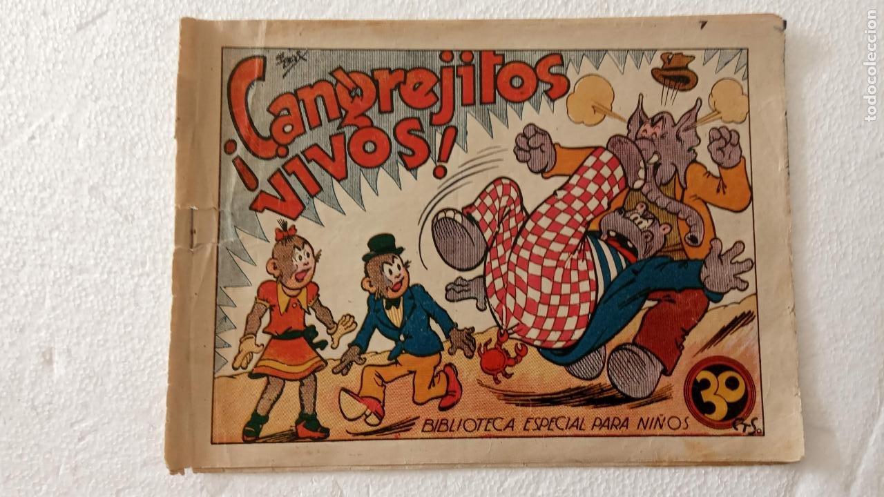 BIBLIOTECA ESPECIAL PARA NIÑOS - HIPO , CRANGEJITOS VIVOS - 1942 EDI. MARCO - E. BOIX (Tebeos y Comics - Marco - Hipo (Biblioteca especial))
