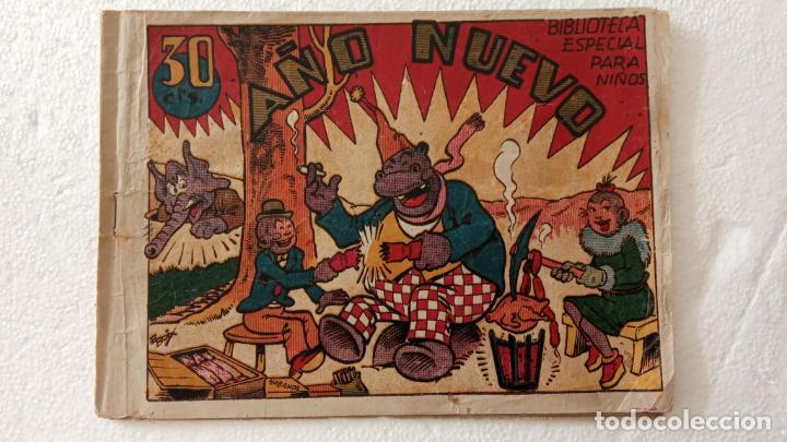 BIBLIOTECA ESPECIAL PARA NIÑOS - HIPO, AÑO NUEVO - 1942 EDI. MARCO - E. BOIX (Tebeos y Comics - Marco - Hipo (Biblioteca especial))