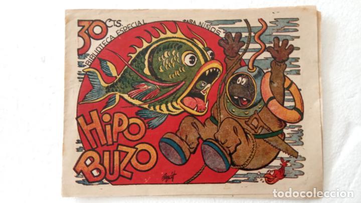 BIBLIOTECA ESPECIAL PARA NIÑOS - HIPO BUZO - 1942 EDI. MARCO - E. BOIX (Tebeos y Comics - Marco - Hipo (Biblioteca especial))