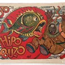 Tebeos: BIBLIOTECA ESPECIAL PARA NIÑOS - HIPO BUZO - 1942 EDI. MARCO - E. BOIX. Lote 233841745