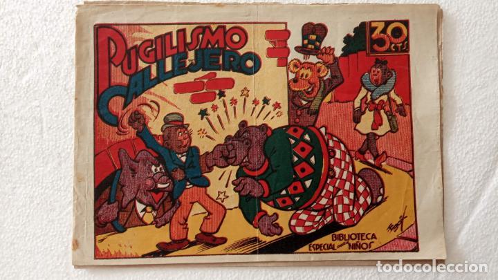 BIBLIOTECA ESPECIAL PARA NIÑOS - HIPO , PUGILISMO CALLEJERO - 1942 EDI. MARCO - E. BOIX (Tebeos y Comics - Marco - Hipo (Biblioteca especial))