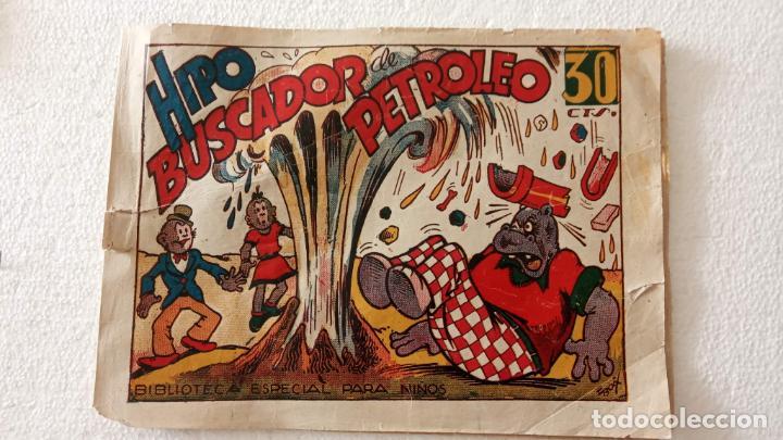 BIBLIOTECA ESPECIAL PARA NIÑOS - HIPO BUSCANDO PETROLEO - 1942 EDI. MARCO - E. BOIX (Tebeos y Comics - Marco - Hipo (Biblioteca especial))