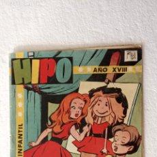 Tebeos: HIPO Nº 28 ORIGINAL - 1958 EDI. MARCO - F. IBAÑEZ ( MELENAS ) AYNÉ, J.MAX, TORÁ, KITO, SPARCH, BONO. Lote 234492935