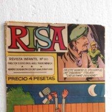 Tebeos: LA RISA ORIGINAL Nº 90 - 1965 OLIVÉ Y HONTORIA - CASTILLO, RAF, PONT, ETC. Lote 234497350