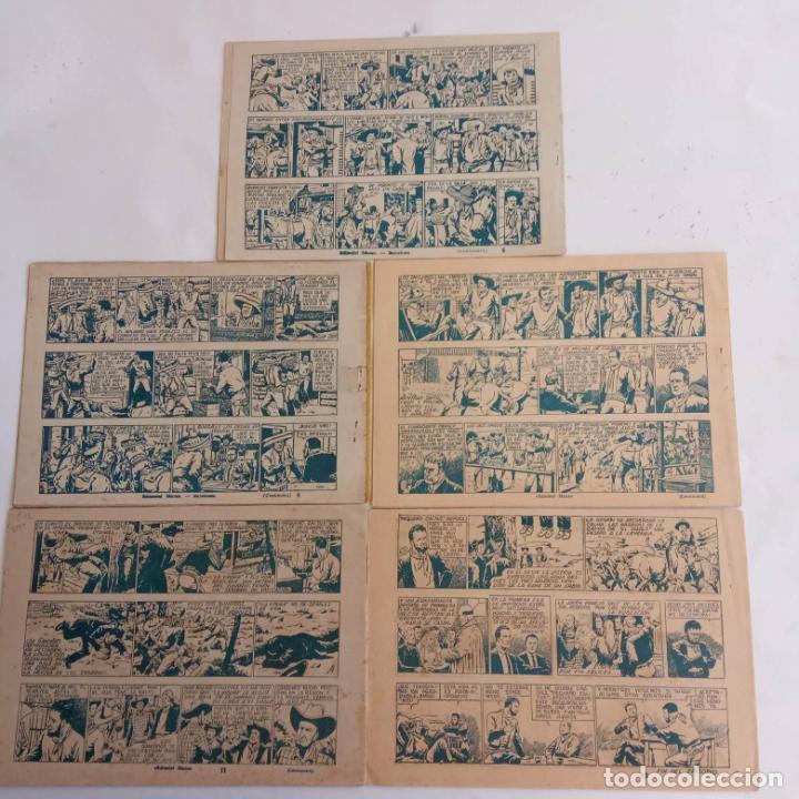 Tebeos: PONCHO LIBERTAS ORIGINALES NºS - 4,6,9,11,12 ÚLTIMO - EDI. MARCO 1945, MUY BUEN ESTADO, LE RALLIC - Foto 5 - 234582740