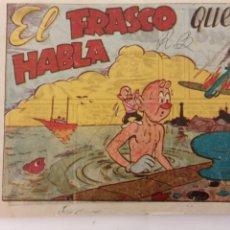 Tebeos: NARIZAN - ORIGINAL - EL FRASCO QUE HABLA -EDI. MARCO 1946 - MUY BIEN CONSERVADO. Lote 234587000