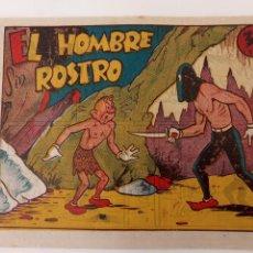 Tebeos: NARIZAN ORIGINAL, EL HOMBRE SIN ROSTRO - 1946 EDI. MARCO - MUY BUEN ESTADO. Lote 234587145
