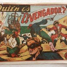 Tebeos: EL VENGADOR ORIGINAL Nº 8 - EDITORIAL MARCO 1951. Lote 234590460