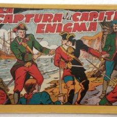 Tebeos: EL CAPITÁN ENIGMA ORIGINAL Nº 6 - EDI. MARCO 1946. Lote 234590925