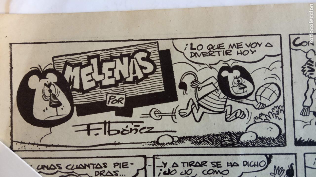 Tebeos: HIPO Nº 28 ORIGINAL - 1958 EDI. MARCO - F. IBAÑEZ ( MELENAS ) AYNÉ, J.MAX, TORÁ, KITO, SPARCH, BONO - Foto 8 - 234492935
