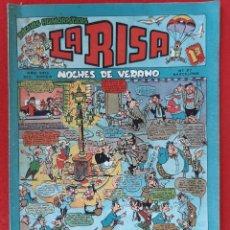 Tebeos: LA RISA SEGUNDA EPOCA Nº 37 NOCHES DE VERANO EDITORIAL MARCO ORIGINAL CT3. Lote 235512240