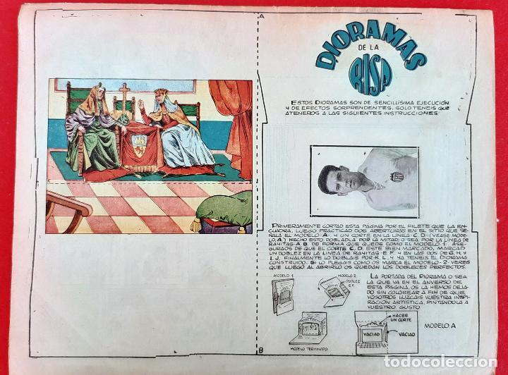 Tebeos: LA RISA SEGUNDA EPOCA Nº 27 BUENA PROPAGANDA CROMO FUTBOL VALENCIA EDITORIAL MARCO ORIGINAL CT3 - Foto 2 - 235512350