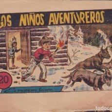 Tebeos: COMIC COLECCION LOS NIÑOS AVENTUREROS EL DOCUMENTO SECRETO Nº 19 EDITORIAL MARCO. Lote 235904010