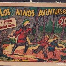 Tebeos: COMIC COLECCION LOS NIÑOS AVENTUREROS EN PODER DE LOS PIELES ROJAS Nº 8 EDITORIAL MARCO. Lote 235904190