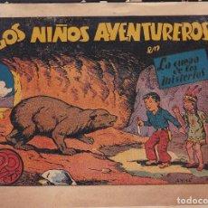 Tebeos: COMIC COLECCION LOS NIÑOS AVENTUREROS LA CUEVA DE LOS MISTERIOS Nº 12 EDITORIAL MARCO. Lote 235904315