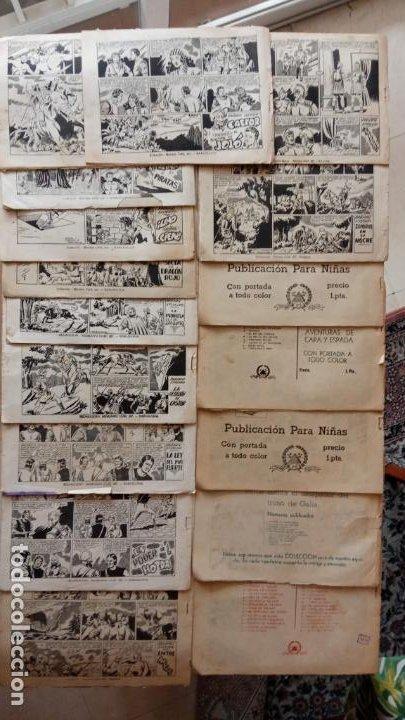 Tebeos: CASTOR EL INVENCIBLE ORIGINALES 1951 EDI. MARCO - POR MARTÍNEZ - VER TODAS LAS PORATADAS Y CONTRAS - Foto 4 - 236657270