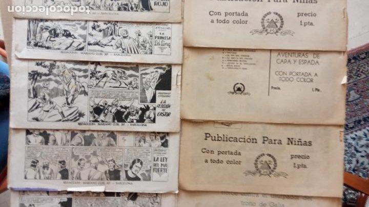 Tebeos: CASTOR EL INVENCIBLE ORIGINALES 1951 EDI. MARCO - POR MARTÍNEZ - VER TODAS LAS PORATADAS Y CONTRAS - Foto 7 - 236657270