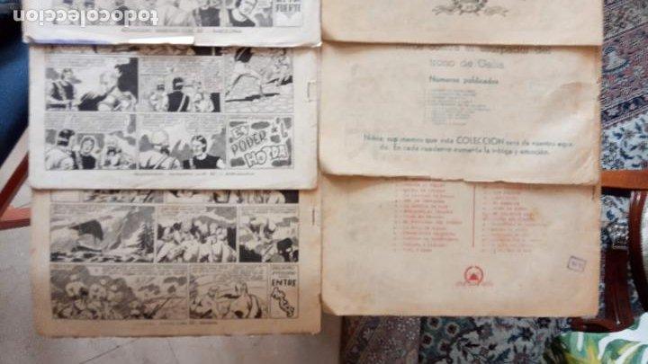 Tebeos: CASTOR EL INVENCIBLE ORIGINALES 1951 EDI. MARCO - POR MARTÍNEZ - VER TODAS LAS PORATADAS Y CONTRAS - Foto 8 - 236657270