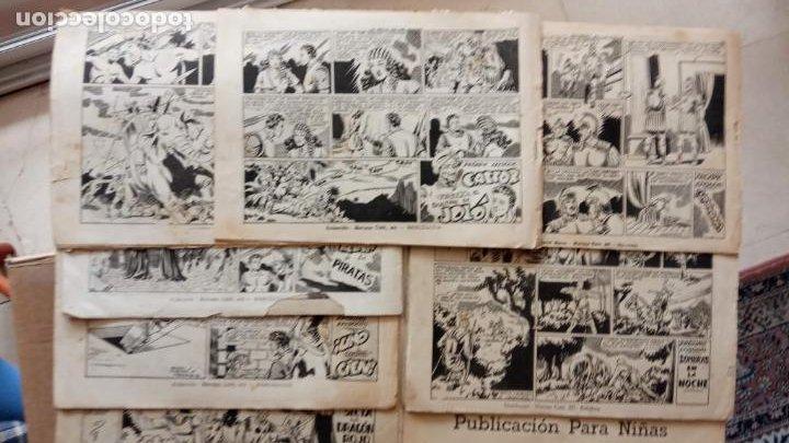 Tebeos: CASTOR EL INVENCIBLE ORIGINALES 1951 EDI. MARCO - POR MARTÍNEZ - VER TODAS LAS PORATADAS Y CONTRAS - Foto 10 - 236657270