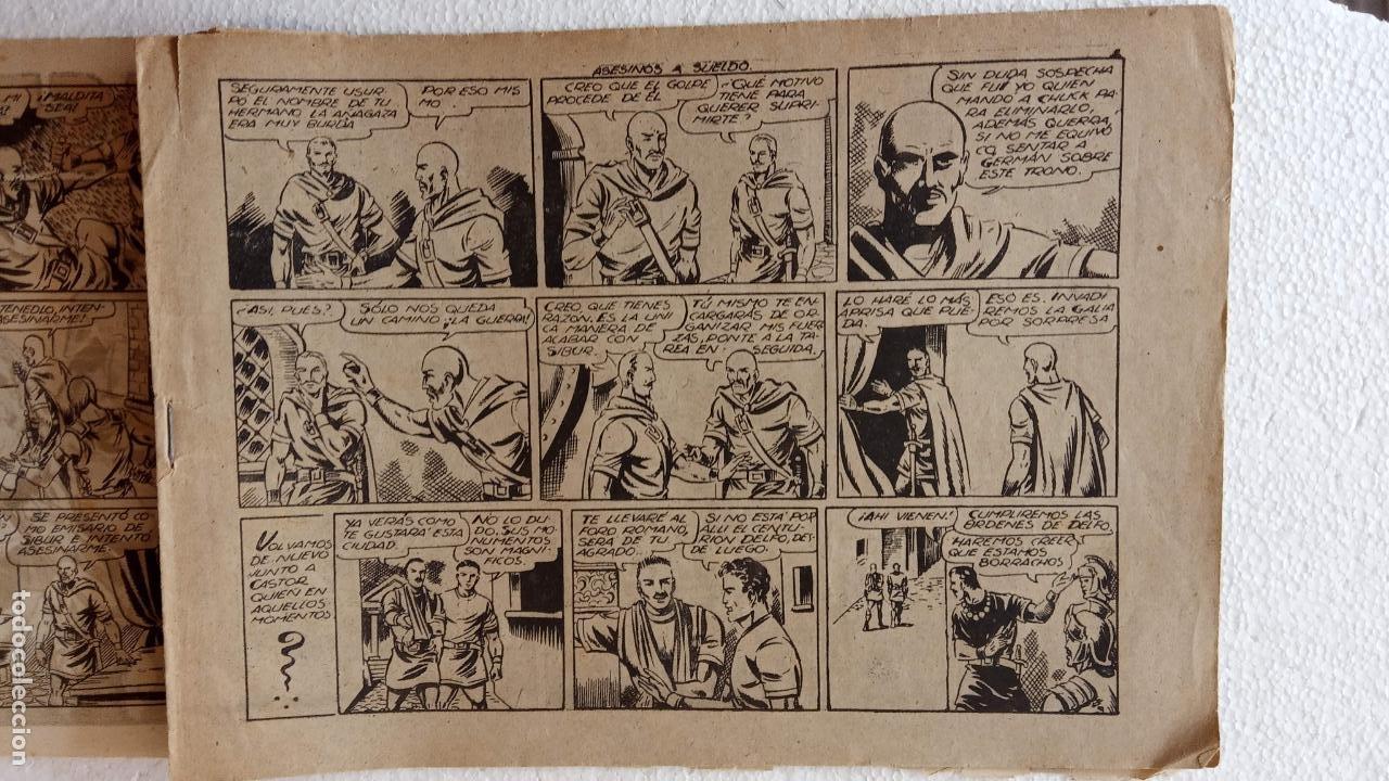 Tebeos: CASTOR EL INVENCIBLE ORIGINALES 1951 EDI. MARCO - POR MARTÍNEZ - VER TODAS LAS PORATADAS Y CONTRAS - Foto 11 - 236657270