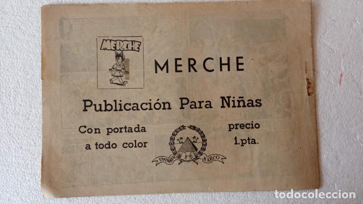 Tebeos: CASTOR EL INVENCIBLE ORIGINALES 1951 EDI. MARCO - POR MARTÍNEZ - VER TODAS LAS PORATADAS Y CONTRAS - Foto 13 - 236657270