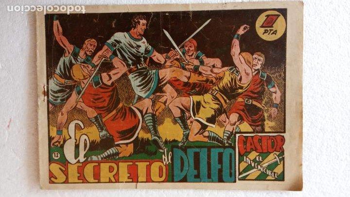 Tebeos: CASTOR EL INVENCIBLE ORIGINALES 1951 EDI. MARCO - POR MARTÍNEZ - VER TODAS LAS PORATADAS Y CONTRAS - Foto 14 - 236657270