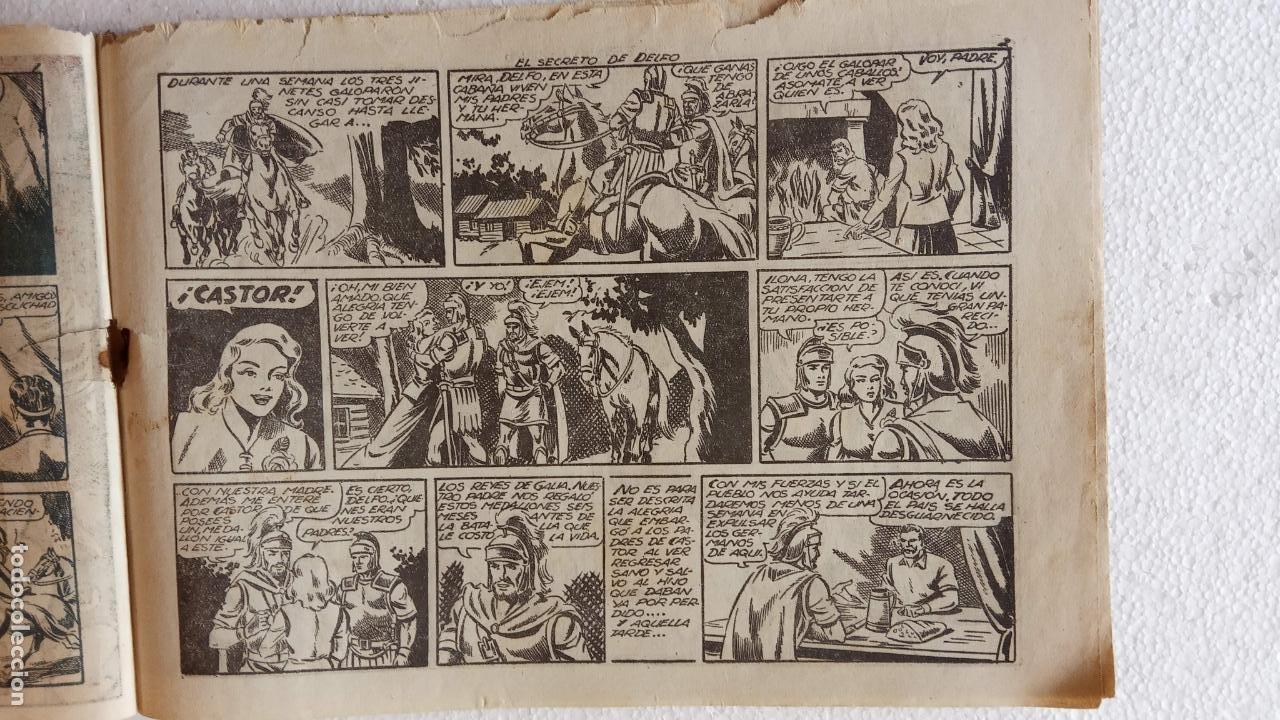 Tebeos: CASTOR EL INVENCIBLE ORIGINALES 1951 EDI. MARCO - POR MARTÍNEZ - VER TODAS LAS PORATADAS Y CONTRAS - Foto 16 - 236657270