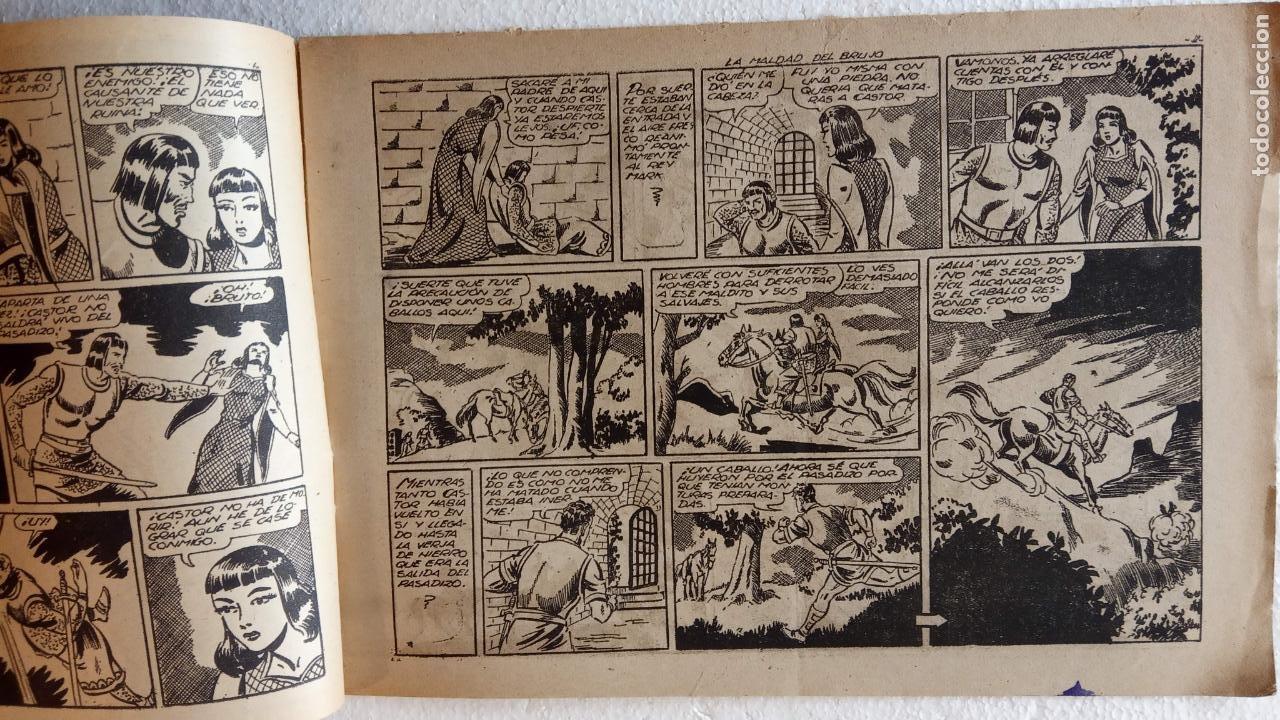 Tebeos: CASTOR EL INVENCIBLE ORIGINALES 1951 EDI. MARCO - POR MARTÍNEZ - VER TODAS LAS PORATADAS Y CONTRAS - Foto 19 - 236657270