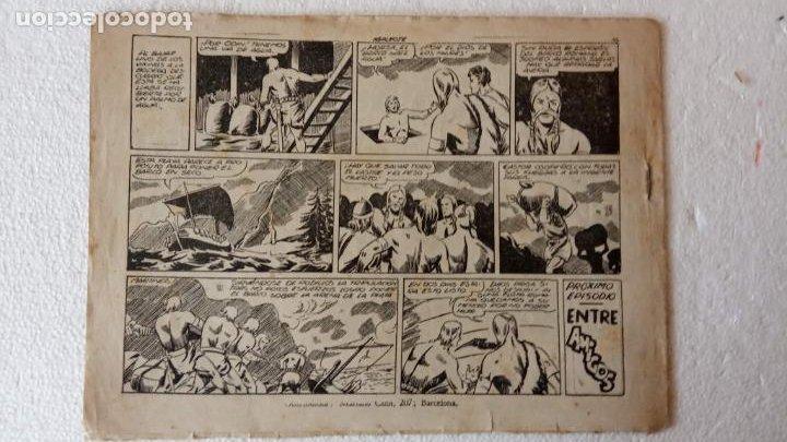 Tebeos: CASTOR EL INVENCIBLE ORIGINALES 1951 EDI. MARCO - POR MARTÍNEZ - VER TODAS LAS PORATADAS Y CONTRAS - Foto 28 - 236657270