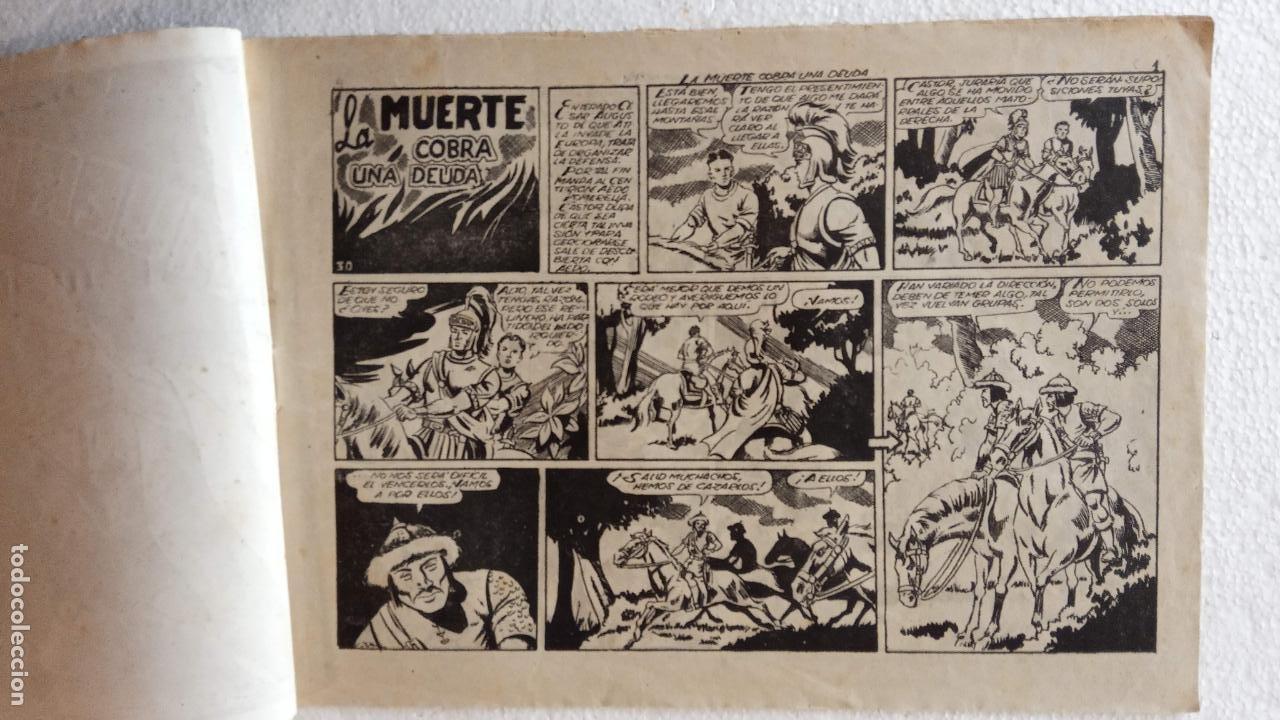 Tebeos: CASTOR EL INVENCIBLE ORIGINALES 1951 EDI. MARCO - POR MARTÍNEZ - VER TODAS LAS PORATADAS Y CONTRAS - Foto 29 - 236657270