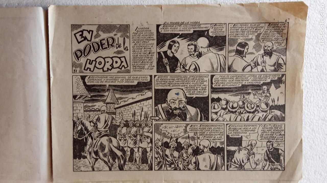 Tebeos: CASTOR EL INVENCIBLE ORIGINALES 1951 EDI. MARCO - POR MARTÍNEZ - VER TODAS LAS PORATADAS Y CONTRAS - Foto 31 - 236657270