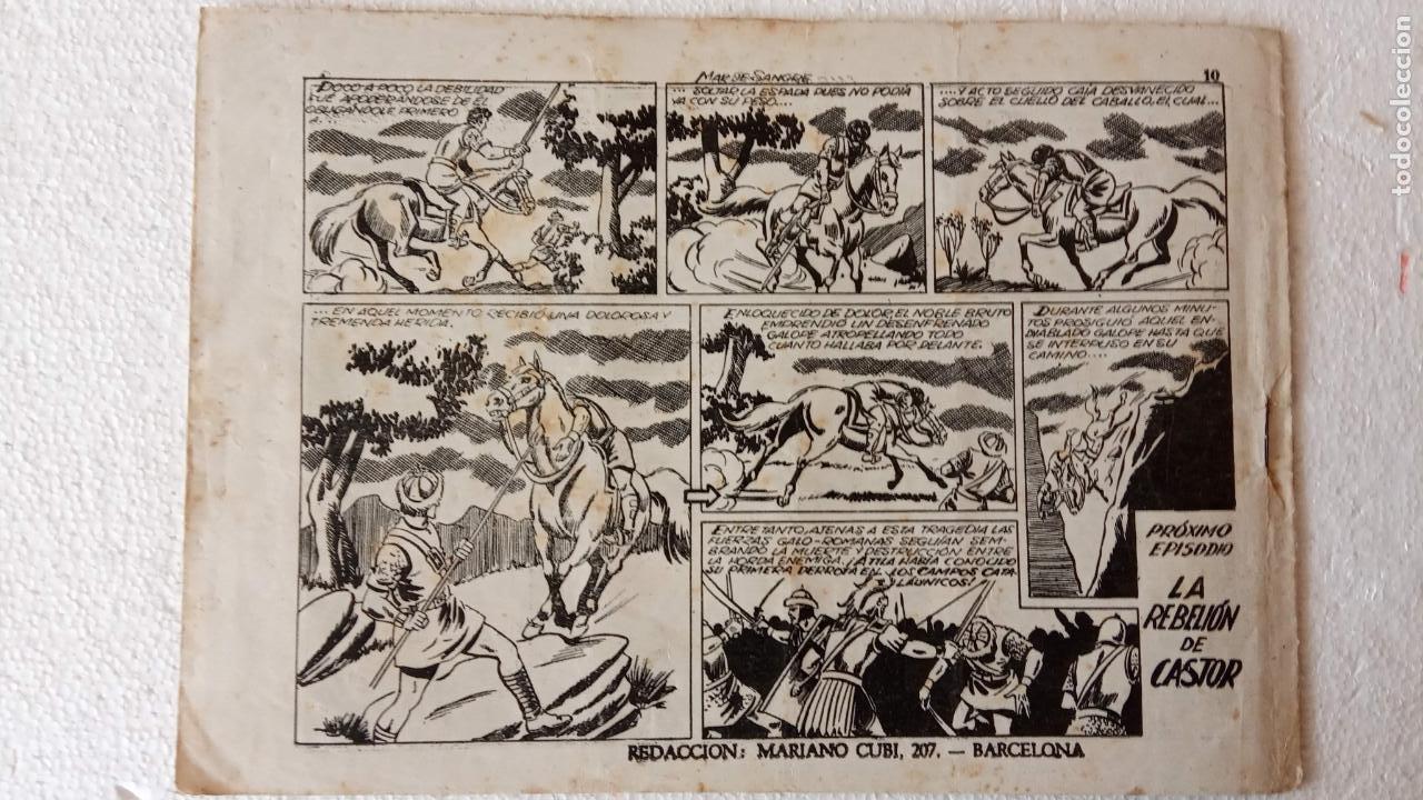 Tebeos: CASTOR EL INVENCIBLE ORIGINALES 1951 EDI. MARCO - POR MARTÍNEZ - VER TODAS LAS PORATADAS Y CONTRAS - Foto 34 - 236657270