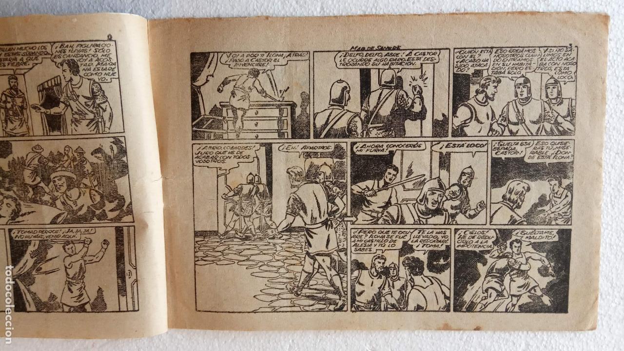 Tebeos: CASTOR EL INVENCIBLE ORIGINALES 1951 EDI. MARCO - POR MARTÍNEZ - VER TODAS LAS PORATADAS Y CONTRAS - Foto 35 - 236657270