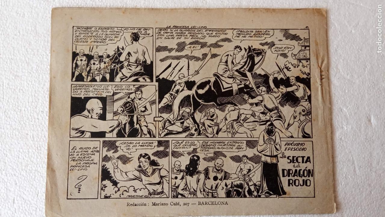Tebeos: CASTOR EL INVENCIBLE ORIGINALES 1951 EDI. MARCO - POR MARTÍNEZ - VER TODAS LAS PORATADAS Y CONTRAS - Foto 39 - 236657270