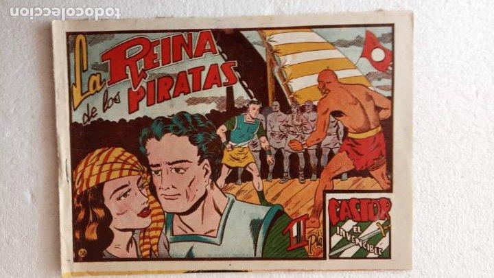 Tebeos: CASTOR EL INVENCIBLE ORIGINALES 1951 EDI. MARCO - POR MARTÍNEZ - VER TODAS LAS PORATADAS Y CONTRAS - Foto 46 - 236657270