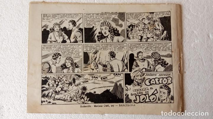 Tebeos: CASTOR EL INVENCIBLE ORIGINALES 1951 EDI. MARCO - POR MARTÍNEZ - VER TODAS LAS PORATADAS Y CONTRAS - Foto 48 - 236657270