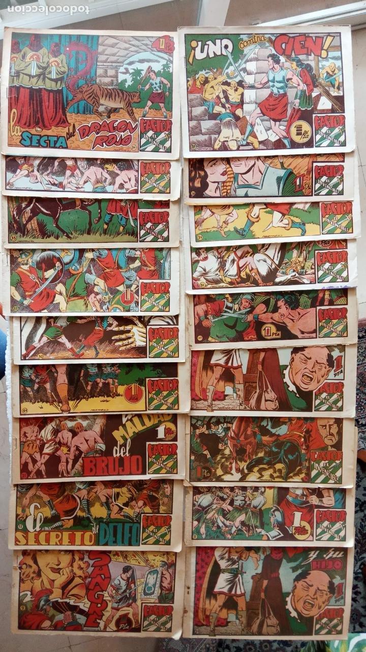 CASTOR EL INVENCIBLE ORIGINALES 1951 EDI. MARCO - POR MARTÍNEZ - VER TODAS LAS PORATADAS Y CONTRAS (Tebeos y Comics - Marco - Castor el Invencible)