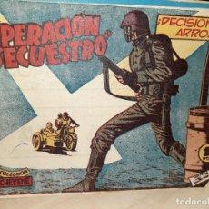 Tebeos: COLECCIÓN CHEYENE 1959.OPERACIÓN SECUESTRO.DECISIÓN Y ARROJO.EDITORIAL MARCO.. Lote 236904600