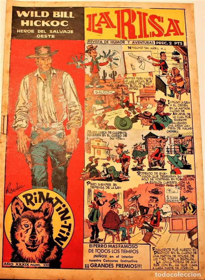 Tebeos: La Risa, editorial Marco, 2 números originales 1952 ( 73 y 220 ) - Foto 2 - 237161015