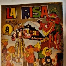 Tebeos: LA RISA, ALMANAQUE 1966, ORIGINAL EDITORIAL MARCO. Lote 237163790