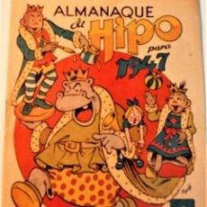 Tebeos: ALMANAQUE HIPO 1947, EDITORIAL MARCO. Lote 237213070
