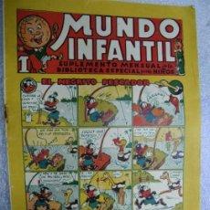 BDs: MUNDO INFANTIL SUPLEMENTO MENSUAL DE LA BIBLIOTECA ESPECIAL PARA NIÑOS - EL NEGRITO PESCADOR. Lote 237899310