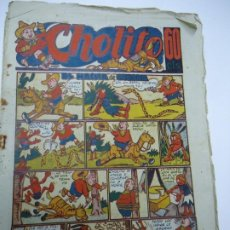 Giornalini: 1947 CHOLITO Nº 10 EL HACHA DE GUERRA EDITORIAL MARCO MIDE 24 X 17CM. Lote 239843640