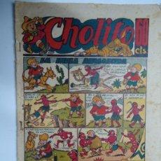 Giornalini: 1947 CHOLITO Nº 6 LA INDIA AGRADECIDA EDITORIAL MARCO MIDE 24 X 17CM.. Lote 239844540