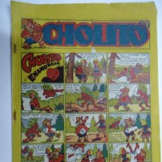 Giornalini: 1947 CHOLITO Nº 13 CHOLITO ENAMORADO EDITORIAL MARCO MIDE 24 X 17CM. CORREO CERTIFICADO 5,5€. Lote 239845475