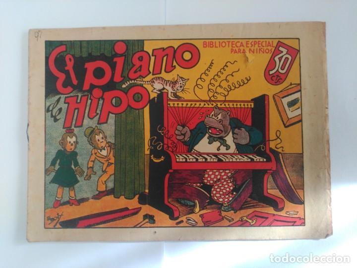 EL PIANO DE HIPO (Tebeos y Comics - Marco - Hipo (Biblioteca especial))