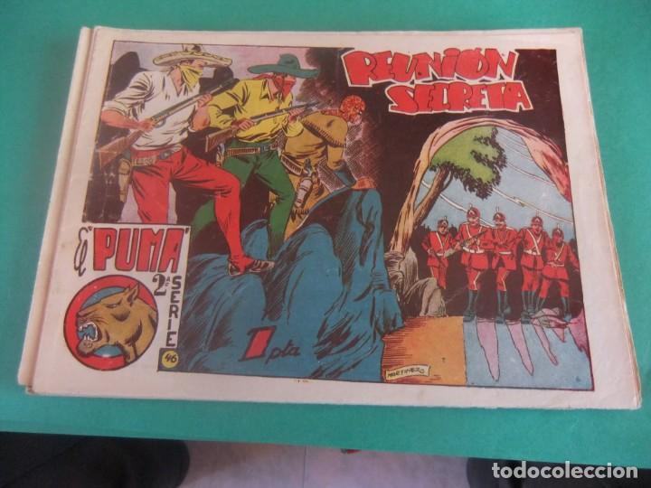 EL PUMA 2ª SERIE Nº 46 EDITORIAL MARCO ORIGINAL (Tebeos y Comics - Marco - Otros)