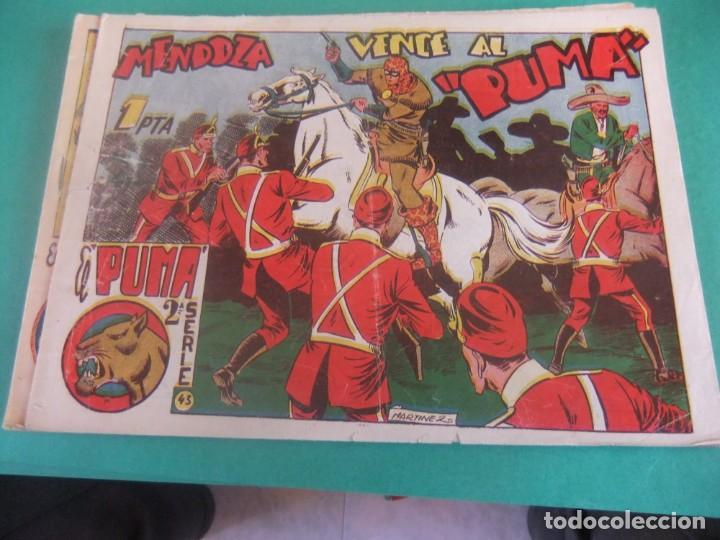 EL PUMA 2ª SERIE Nº 43 EDITORIAL MARCO ORIGINAL (Tebeos y Comics - Marco - Otros)